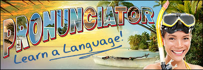 Image result for pronunciator.com